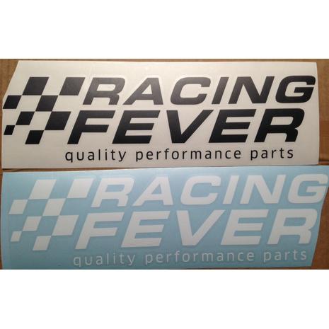 racing-fever Aufkleber
